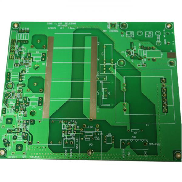 Quality RF Remote Control Transmitter Rogers PCB , 0.508mm TG135 Customized green pcb Board for sale