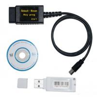 China Renault + Nissan Car Key Transponder Programer 2 In1 , PC Software DEC Superscan on sale