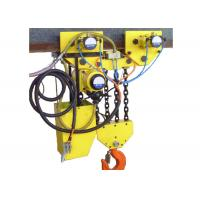 China Anti Explosive Pneumatic Chain Block 20 ton Normal Yellow Alloy wholesale