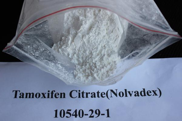 Quality Oral Anti Estrogen Tamoxifen Citrate / Nolvadex Cancer Treatment Steroids CAS 10540-29-1 for sale