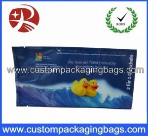 China Printed Plastic Food Packaging Bags , Side Gusset Wet Wipes Tissue Packaging Bag wholesale