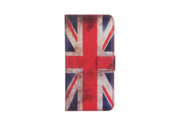 Quality IPhone 6s Plus Scratch Resistant Phone Case Nation Flag Type SGS Certification for sale