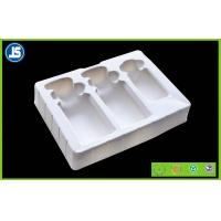 Cosmetic flocking vacuum formed plastic trays blister with Recycled