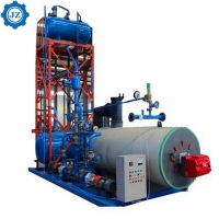 China Heavy Oil Fired Skid Mounted Thermal Oil Boiler For Wood Processing Plant wholesale