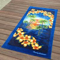 China Turquoise Personalized Beach Towels wholesale