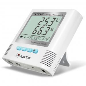 Sound Light Alarm Import  Internal Sensor High accuracy Laboratory  use Temperature Humidity Data Logger