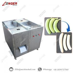 China Green Banana Peeling Machine Automatic Banana Peeler Machine Commercial Banana Cutting Machine Plantain Chips Peeler wholesale