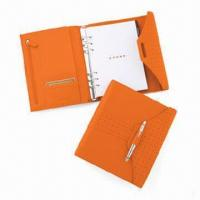 China Notepad, Includes Polished Chrome Cross Accessory Pen, OEM and ODM Orders are Welcome wholesale