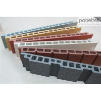 China Building Facade Clay Tile Wall CladdingAnti - Cold With Self - Cleaning System wholesale