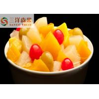 China 850ml 5 fruits Mixed Canned Fruit cocktail Healthy Canned Fruit in light syrup wholesale