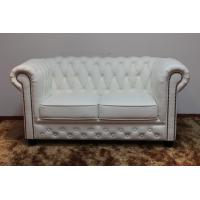 China High Grade Hotel Bedroom Furniture Leather Sofa for Reception Customized Color wholesale