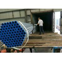 China Hot Dipped Galvanised Iron ERW Steel Pipe , Galvanized Steel Tubes for building wholesale