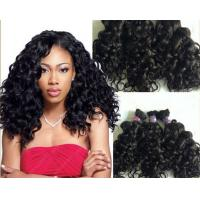 China 100g Full Cuticle Body Wave Curly Human Hair Extensions No Damage wholesale