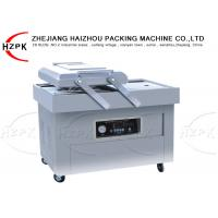 China 800 W Double Chamber Vacuum Packaging Machine , Industrial Food Vacuum Sealer on sale