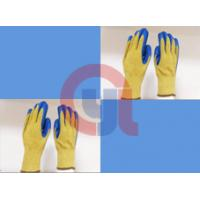 China String Knit Aramid Cut Resistant Work Gloves For Mechanical Cutting Process wholesale