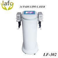 China HOTTEST! 650nm Diode Lipo Laser Machine For Sale / 14 PADS lipo laser slimming machine wholesale