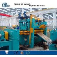 China 0.3 -1.2mm Roll / Coil / Sheet Metal Slitting Line Machine With 4Kw Hydraulic Station Power wholesale