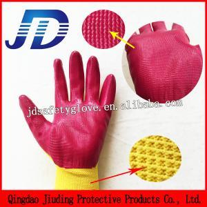 China 13 Gauge seamless nitrile coating work gloves wholesale