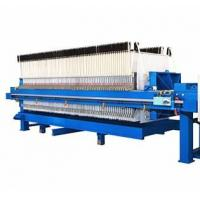 China Hydraulic Filter Press Operation Manual , Ceramic Recessed Plate Filter Press on sale