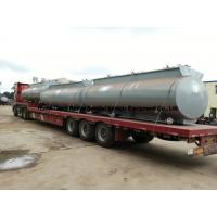 China Chemical Road Tankers For Hydrochloric Acid With Steel Lined PE 16mm -18mm Tank Body wholesale