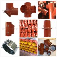 china supply EN877 epoxy cast iron pipes and fittings