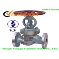 China WCB Globe Corrosion Resistant Valves For Liquid Gas , DN50 / PN40 wholesale