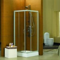 China Corner Entry Shower Enclosure, with 6mm Automobile Grade Safety Glass wholesale
