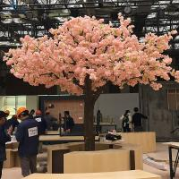 China Anti - Wind Plastic Artificial Cherry Blossom Tree For Wedding Decoration on sale