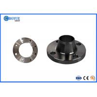 China ASME B16.5 Alloy Steel Reducing Weld Neck Flange , Forged Carbon Steel Weld Neck Flange on sale