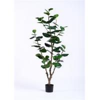 China High Imitation 170cm Artificial Potted Plants , Artificial Ornamental Trees Silk Real Touch on sale