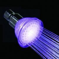 China Rose Shower Head with LED Light wholesale
