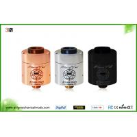 510 Drip Tip Rebuildable Atomizer Tank , Changeable Coil Plume Veil Rda Clone