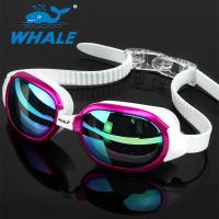 Buy cheap Anti-Shatter Crystal Clear Comfortable Swimming Goggles / Adult Swim Goggles from wholesalers