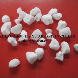China White tabular alumina sintered tabular alumina TA for refractory 99.2%aluminum oxide on sale