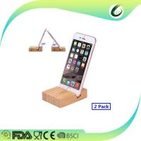 China Bamboo stand cradle dock holder for kindle and all android smartphone iPhone 7 Plus wholesale