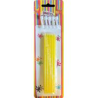 Buy cheap Skinny Dessert Glittering Birthday Party Candles Yellow Cupcake Collection 26.2g from wholesalers