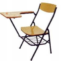 China School Plywood Writing Chairs ,Student Plywood Sketch Chair with Book Basket (GT-35) wholesale