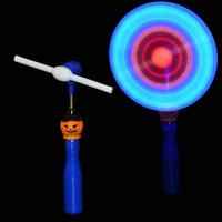 China Pumpkin Child Spinning Windmill Toy / Windmill Led Light ASTM Approved on sale