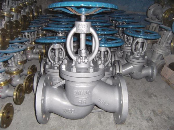 Quality 3 Inch Class A Flanged Globe Valve , 150 Class Carbon Steel Globe Valve for sale