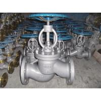 China 3 Inch Class A Flanged Globe Valve , 150 Class Carbon Steel Globe Valve wholesale