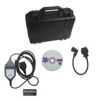 China V2.21 Scania VCI2 SDP3 Heavy Duty Truck Diagnostic Scanner Multi Languages wholesale