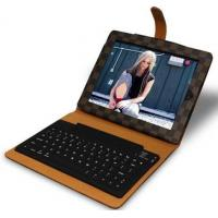 China wireless bluetooth keyboard for ipad 2 classic grid design factorty outlet wholesale