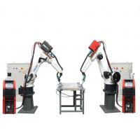 China Arc Mig Aluminum Welding Machine Automatic  Fanuc Industrial Robots Steel Material on sale