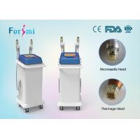 China 2016 2 handles professional rf needling thermage face lift machine for sale wholesale