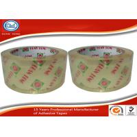 China OEM Printed Single Sided Crystal Clear Packing Tape For Carton Sealing wholesale