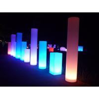 China Bar Decoration Flashing Outdoor Patio Decor , Led Cube Display For Garden on sale
