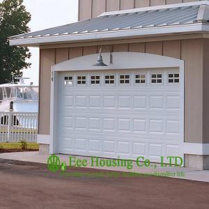 China Sectional Overhead Garage Door/Garage Entry Door/ Finger Safe Garage Door For Apartments wholesale