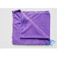 China Hotel Shower Microfiber Terry Cloth 32 x 64 , Microfiber Drying Towels wholesale