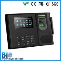 China Data collection Fingerprint Time attendace and Access Control with Battery Bio-800 wholesale