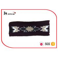 China Multi Color Knitted Snood Scarf For Men , Acrylic Fabrics Crochet Cowl Scarf wholesale